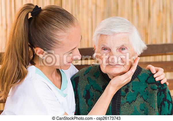 Elderly care - csp26173743
