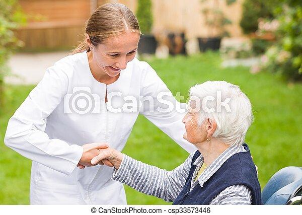 Elderly care - csp33573446