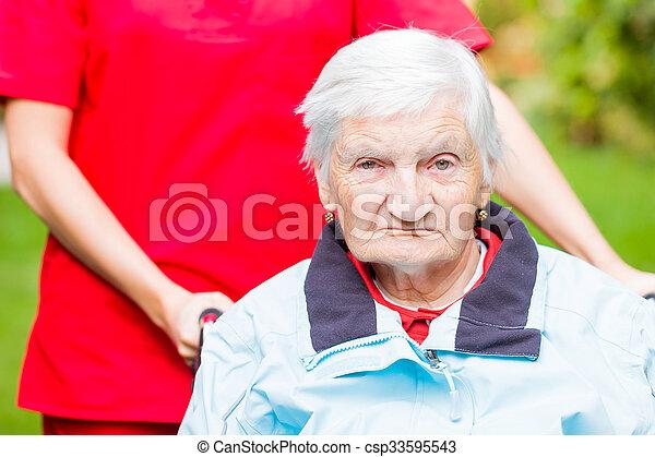 Elderly care - csp33595543