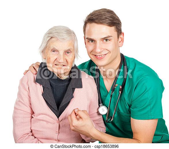Elderly care - csp18653896