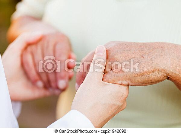 Elderly care - csp21942692