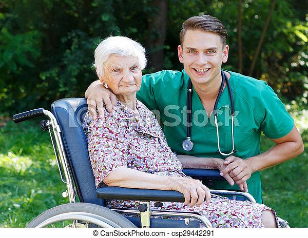 Elderly care - csp29442291