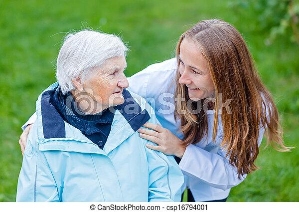 Elderly care - csp16794001