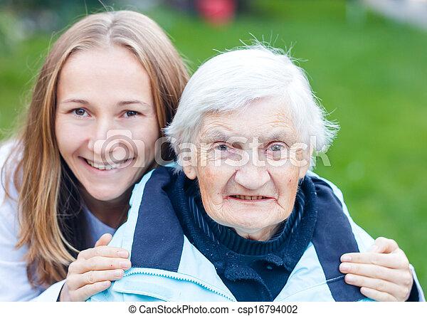 Elderly care - csp16794002