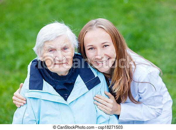 Elderly care - csp18271503
