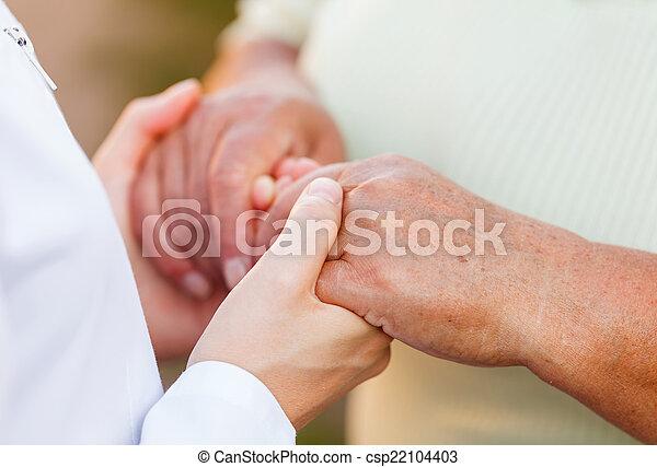 Elderly care - csp22104403