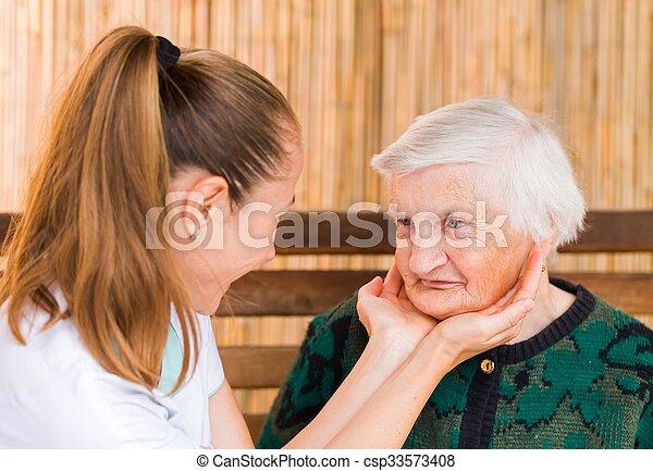 Elderly care - csp33573408