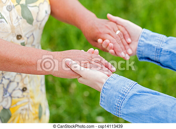 Elderly care - csp14113439
