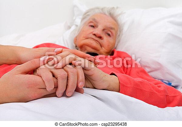 Elderly care - csp23295438
