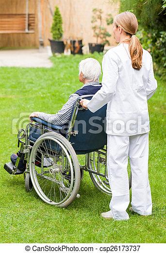 Elderly care - csp26173737