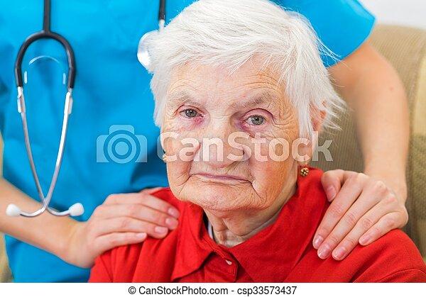 Elderly care - csp33573437
