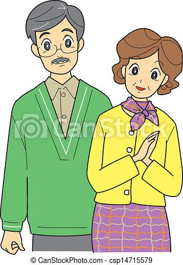 Elderly couple - csp14715579