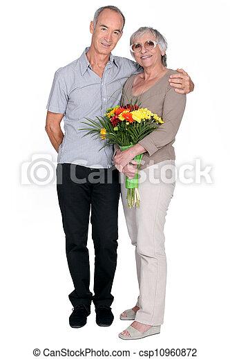 Elderly couple - csp10960872