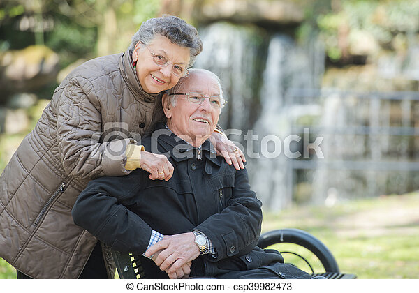 elderly couple - csp39982473