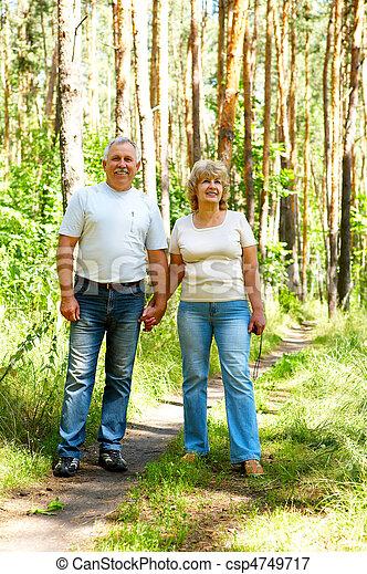 elderly couple - csp4749717