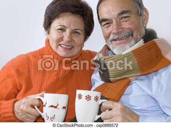 elderly couple - csp0886572