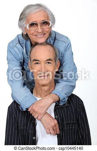 Elderly couple - csp10445140