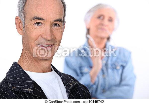 Elderly couple - csp10445742