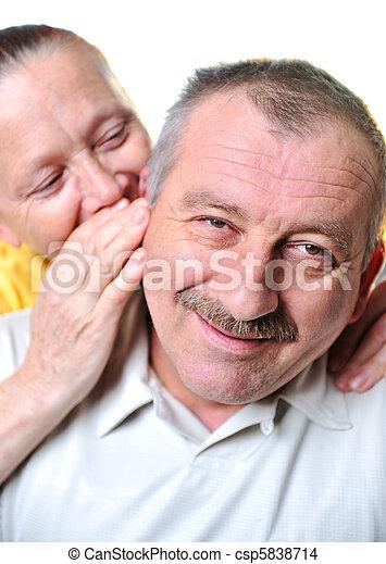 elderly couple - csp5838714