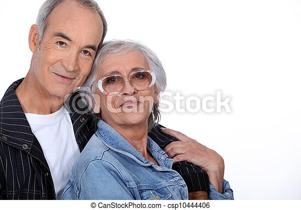 Elderly couple - csp10444406