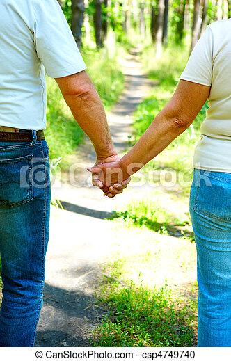 elderly couple - csp4749740