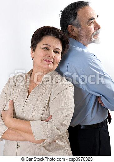 elderly couple - csp0970323