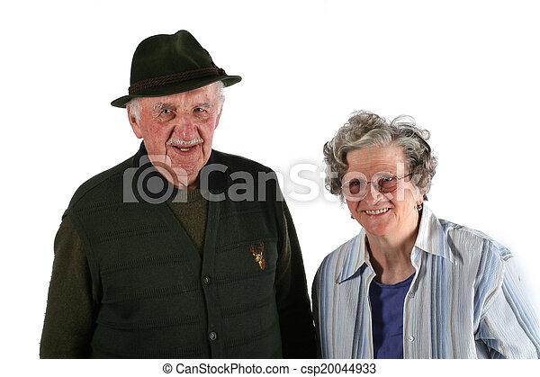 Elderly couple - csp20044933