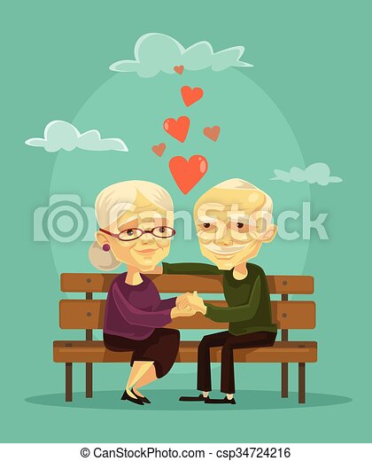 Elderly couple - csp34724216