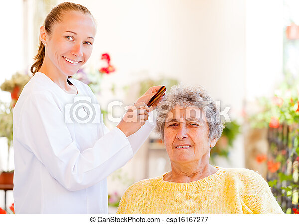Elderly home care - csp16167277