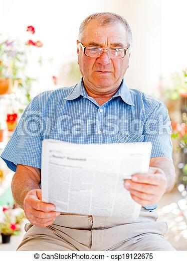 Elderly home care - csp19122675