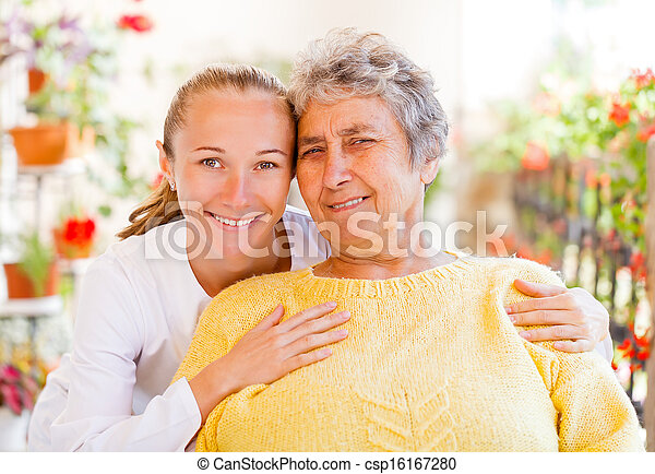 Elderly home care - csp16167280