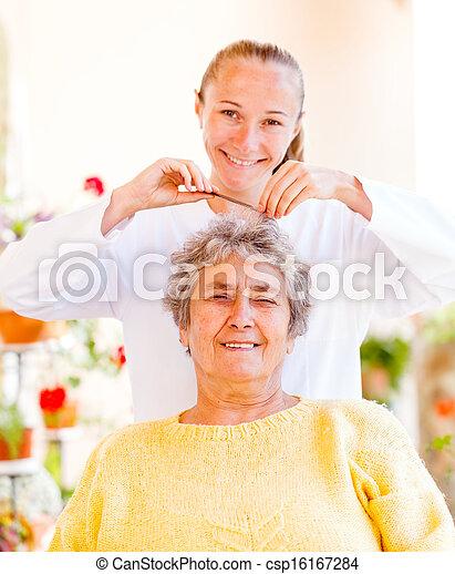 Elderly home care - csp16167284