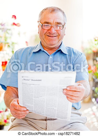 Elderly home care - csp18271482