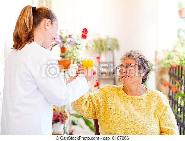 Elderly home care - csp16167266