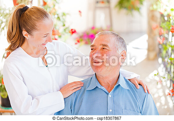Elderly home care - csp18307867
