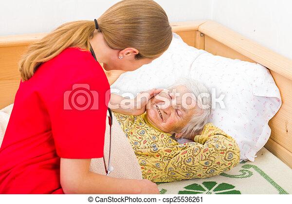 Elderly home care - csp25536261