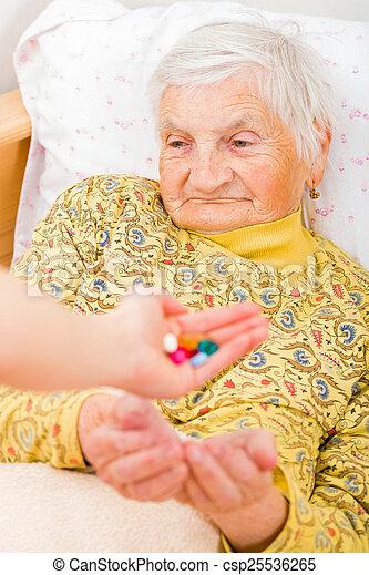 Elderly home care - csp25536265