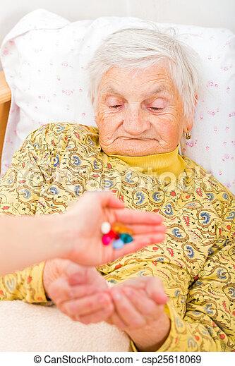 Elderly home care - csp25618069