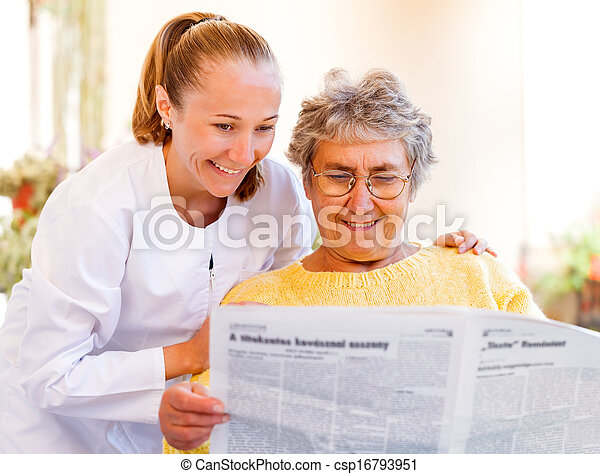 Elderly home care - csp16793951