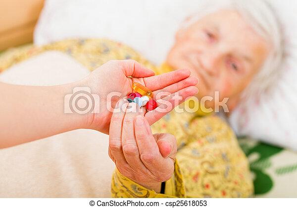 Elderly home care - csp25618053