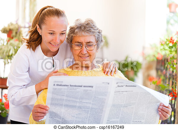 Elderly home care - csp16167249