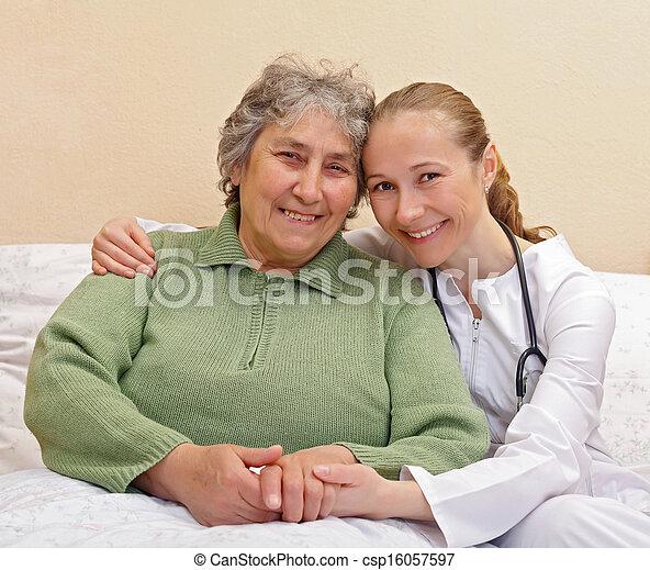 Elderly home care - csp16057597