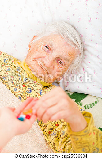 Elderly home care - csp25536304