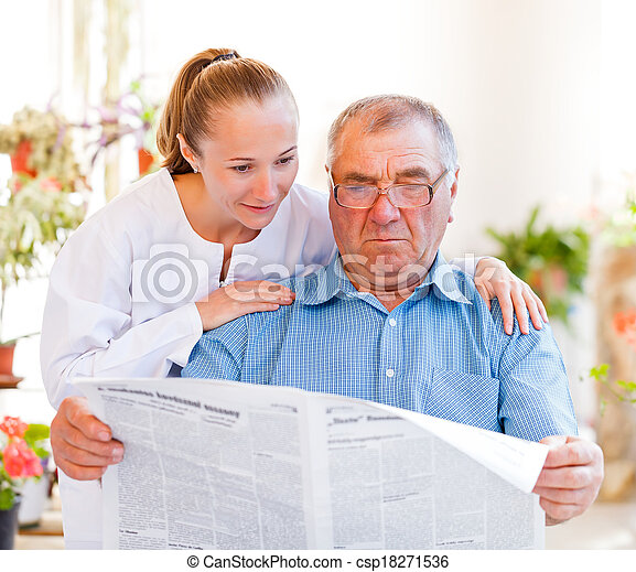 Elderly home care - csp18271536