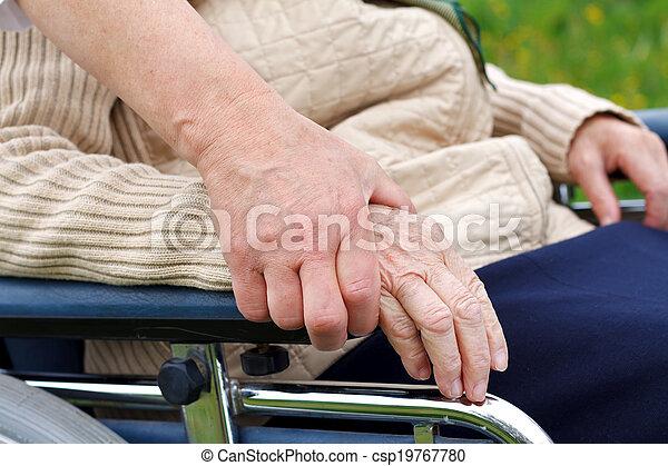 Elderly life - csp19767780
