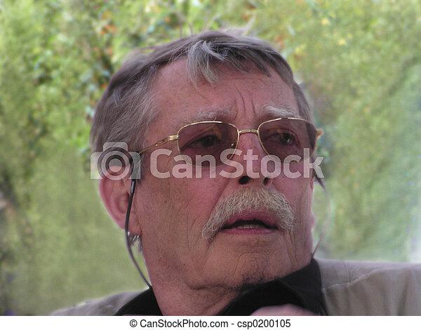 Elderly man portrait 4 - csp0200105