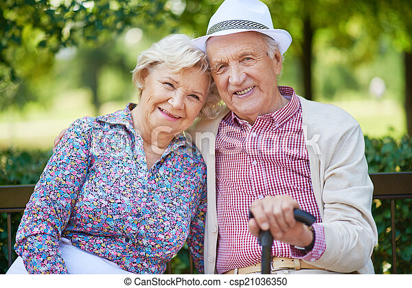 Elderly people - csp21036350