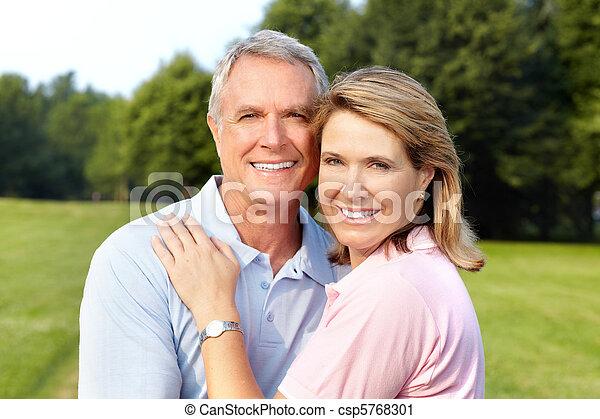 elderly senior couple - csp5768301