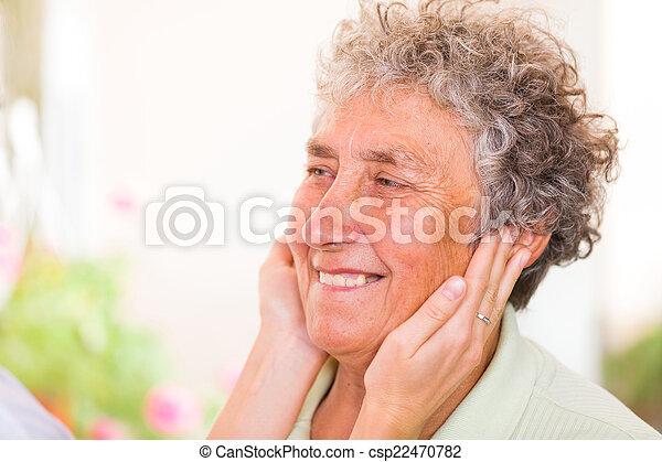 Elderly woman - csp22470782