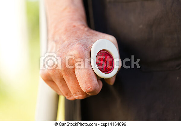 Elderly woman - csp14164696